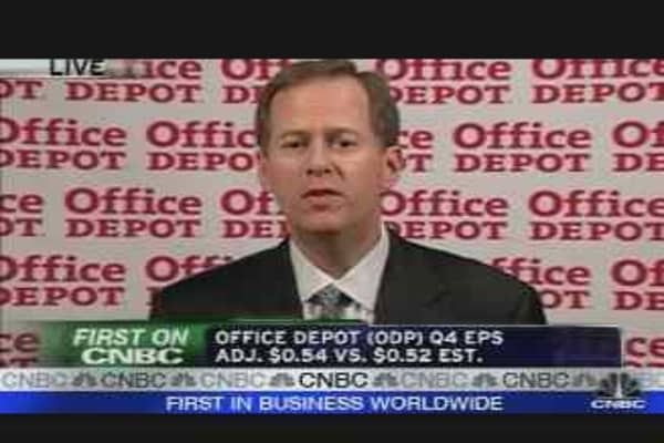 Office Depot Earnings