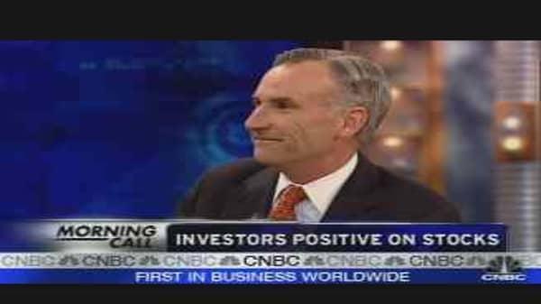 Investors Positive on Stocks