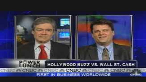 Hollywood Buzz vs. Wall St. Cash