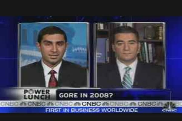 Gore's '08 Intentions