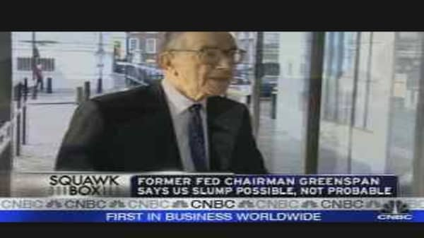 Should Greenspan Pipe Down?