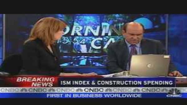 ISM Index & Construction Spending