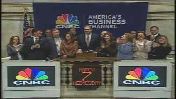 CNBC Rings the Opening Bell