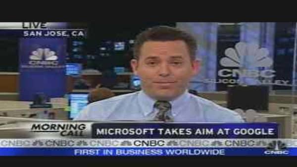 Microsoft Takes Aim at Google