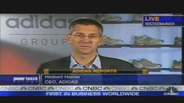 Adidas CEO on Results
