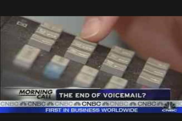 End of Voicemail?