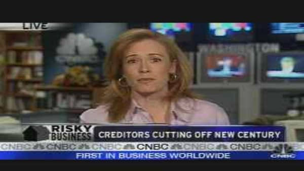 Creditors Cutting Off New Century