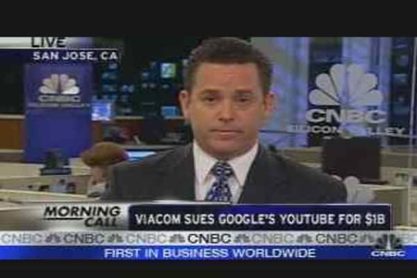 Viacom Sues Google