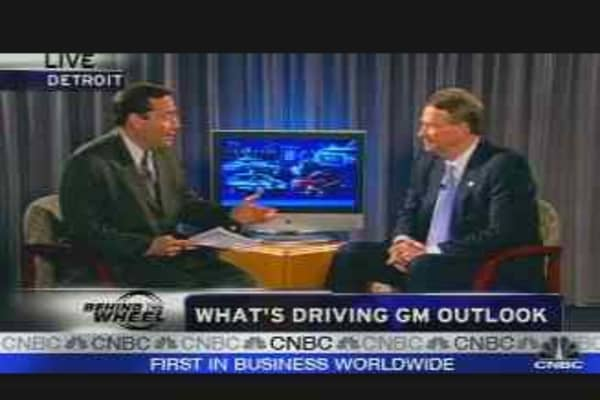 Wagoner on GM's Earnings