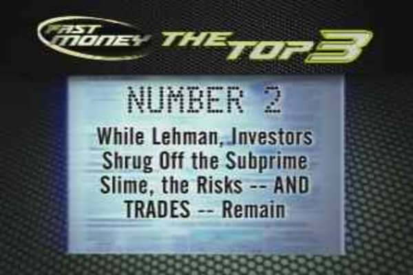 The Top 3: #2 Subprime Slime