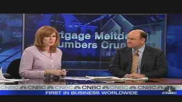 Mortgage Meltdown Pains