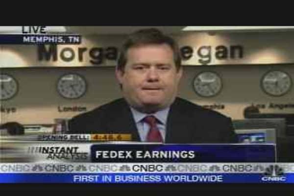 FedEx Earnings