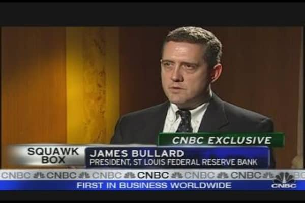 CNBC Exclusive: Bullard on US Interest Rates
