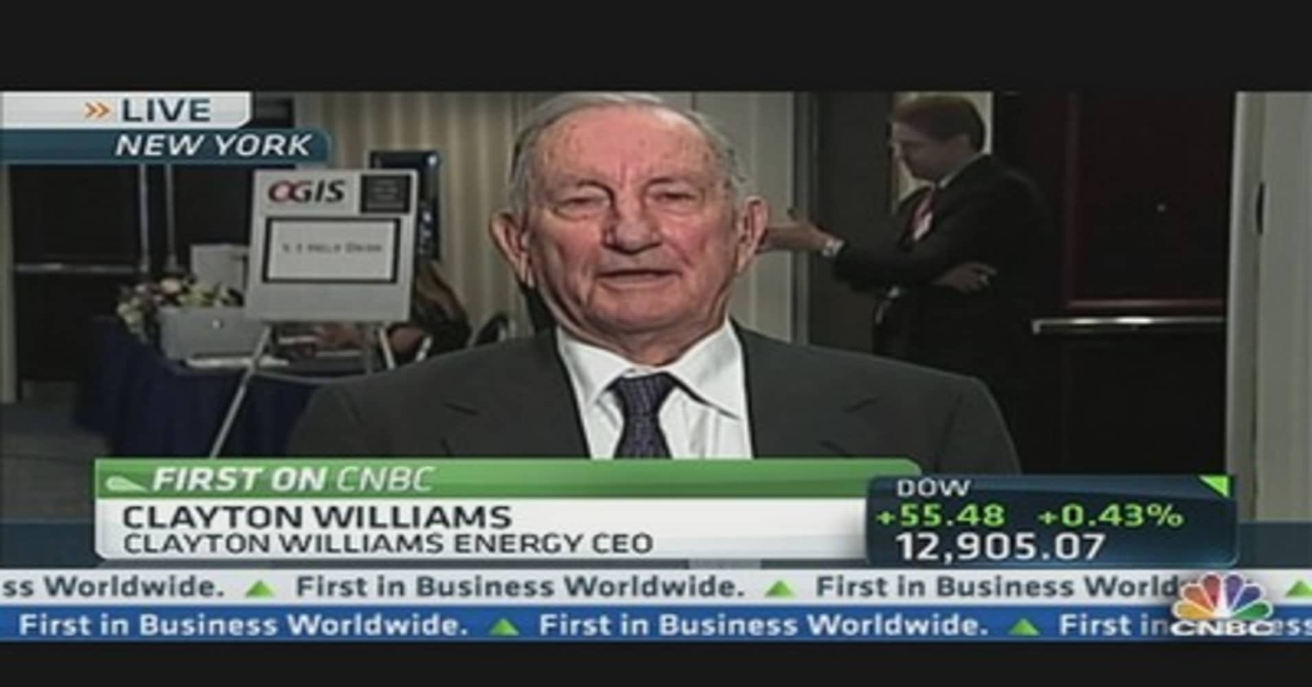 Clayton Williams Energy CEO on Oil Prices