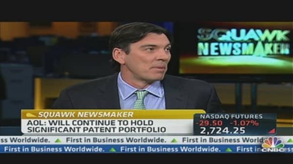 AOL's Armstrong on $1.056B Patent Deal
