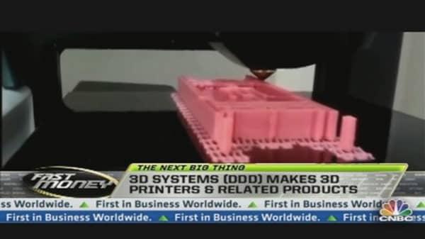 The Next Big Thing: 3D Printing