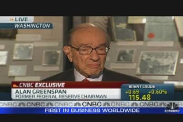 Greenspan on Gold's Rise
