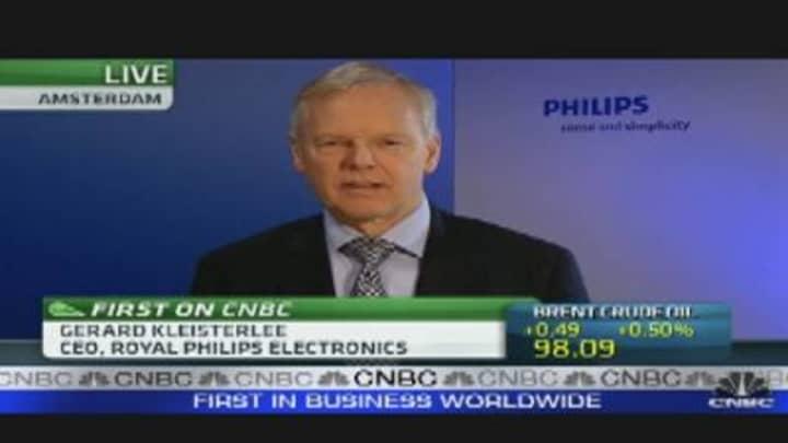 Philips Q4 Profit Below Forecasts