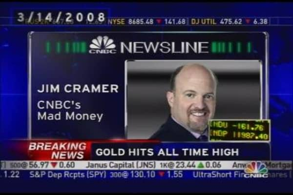 Cramer on Bear Loan