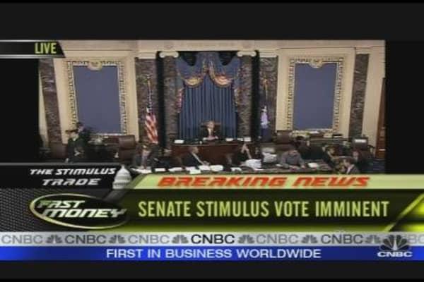 Senate Voting on Stimulus Package