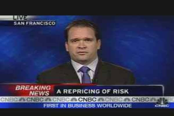 A Repricing of Risk