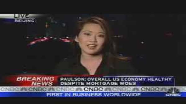 Paulson's China Swing