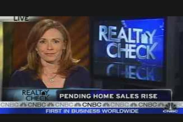 Realty Check: Pending Sales