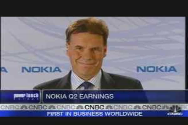 Nokia CEO on Second-Quarter Earnings
