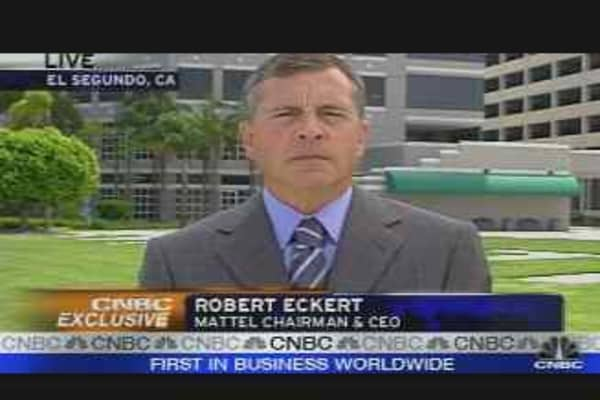 Exclusive: Mattel Chmn. & CEO