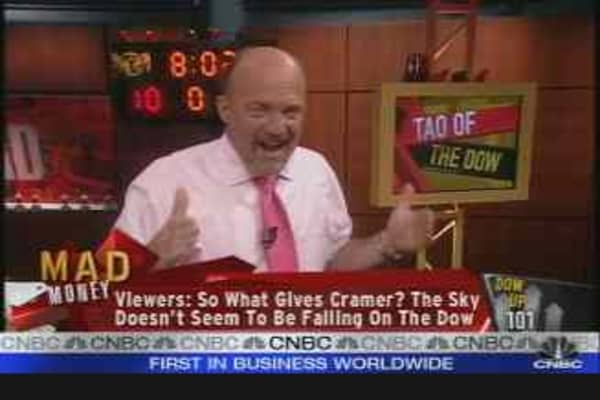Cramer's Dow Analysis