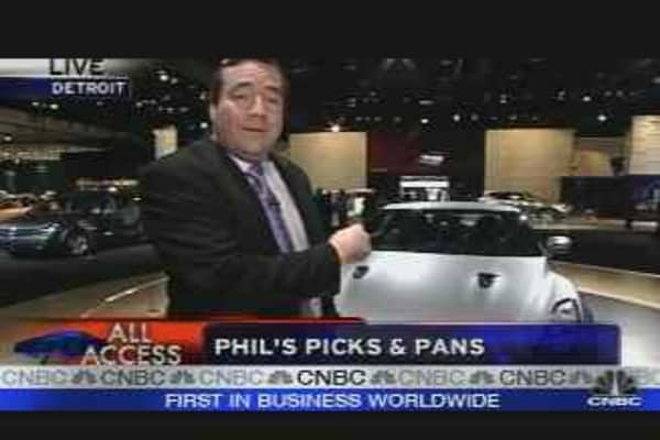 Auto Show Picks & Pans