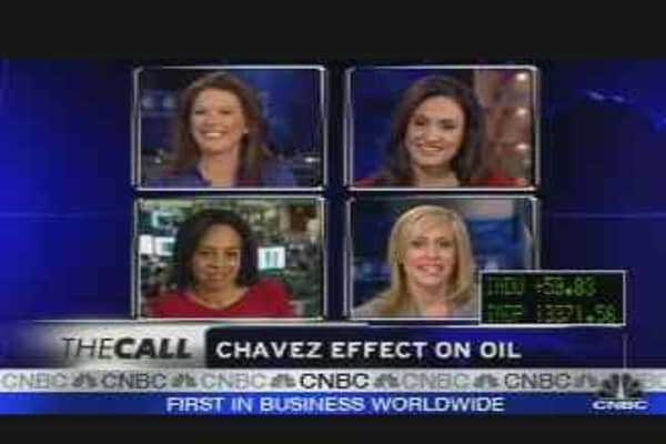The Chavez Effect on Oil