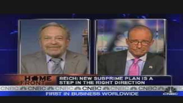 Grading Bush's Subprime Plan