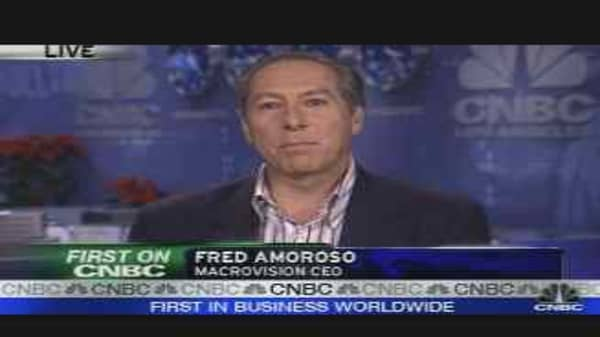 Macrovision CEO