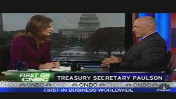 Treasury Secretary Paulson