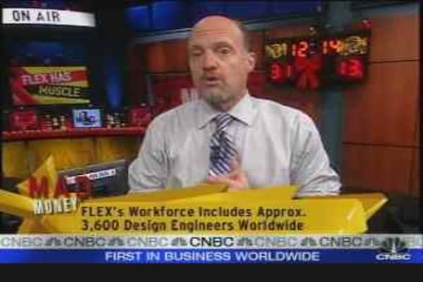 Flextronics Flexes Its Muscle