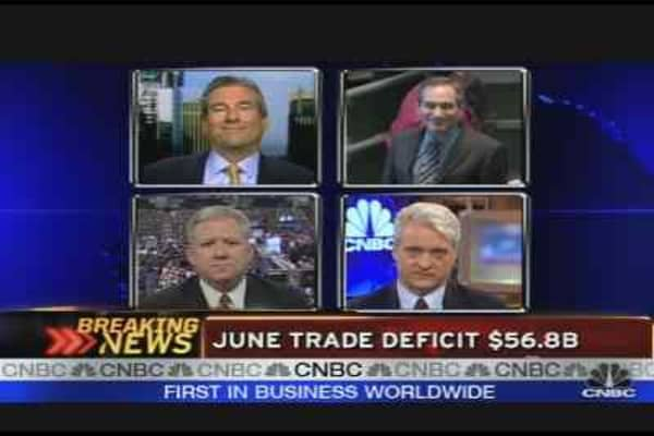 June Trade Deficit