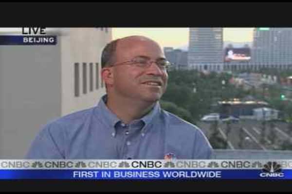 NBC Universal CEO Talks Olympics