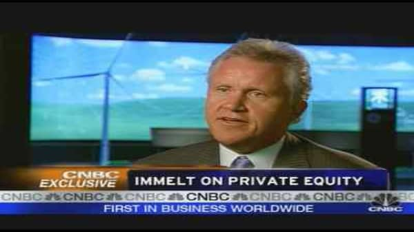 GE's Immelt on the Markets