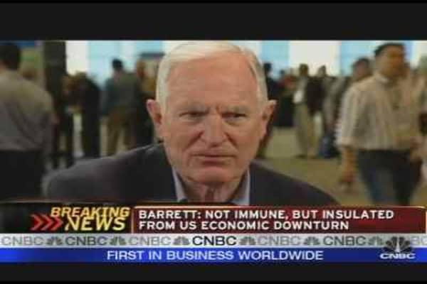 Intel's Craig Barrett