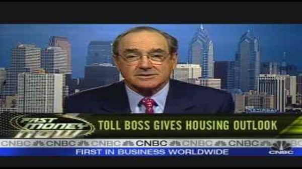 Toll Brothers CEO on Housing