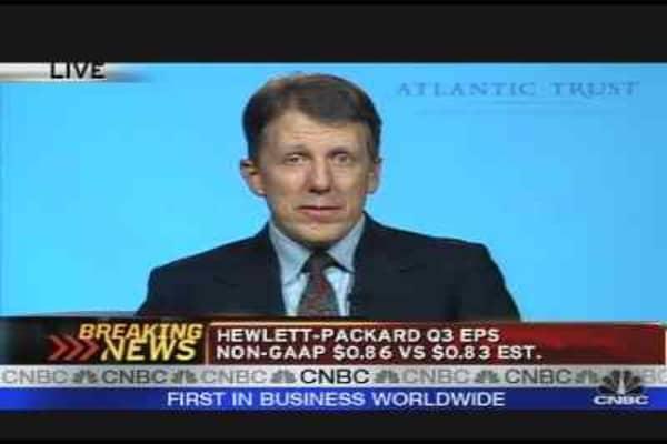 Hewlett-Packard Earnings