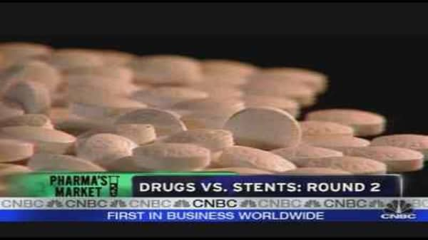 Heart Health: Stents vs. Drugs