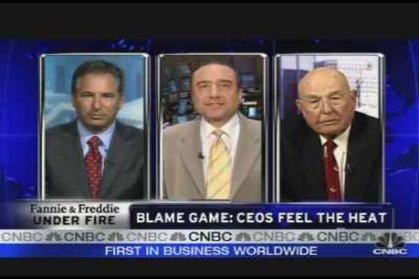 Freddie & Fannie CEOs: Unjustly Blamed?