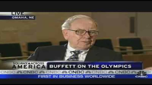 Warren Buffett on the Olympics