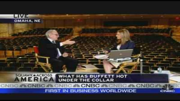 Buffett on John Edwards