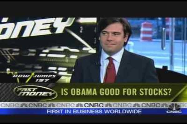 Obama Good For Stocks?