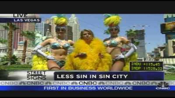 Sin City Economy Takes a Hit