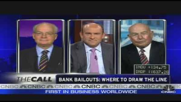 Bank Bailouts: Where to Draw the Line