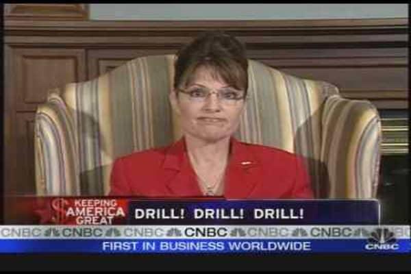 Alaskan Governor on Oil